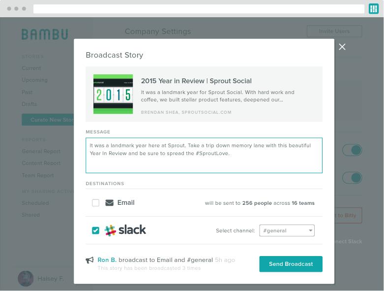 bambu slack integration screenshot 2
