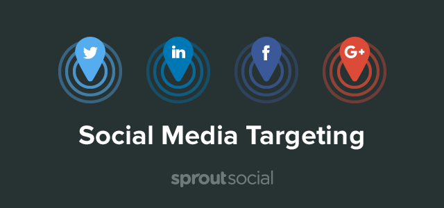 social media targeting sprout social