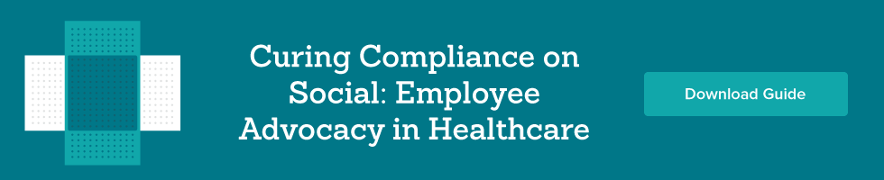 employee advocacy in healthcare banner