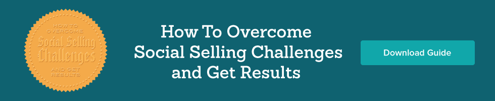 social selling challenges banner