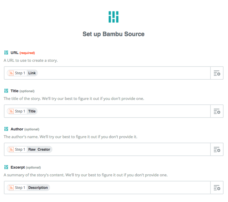 Set up Bambu Source- Formatting