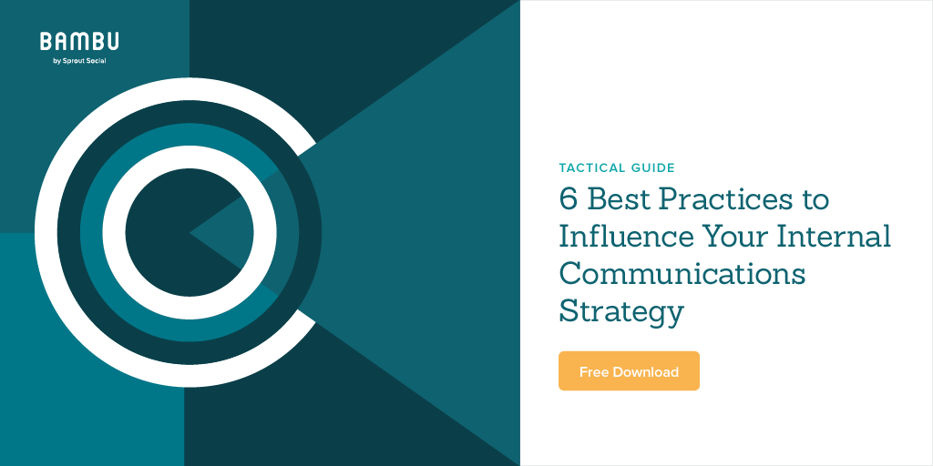 internal comms best practices